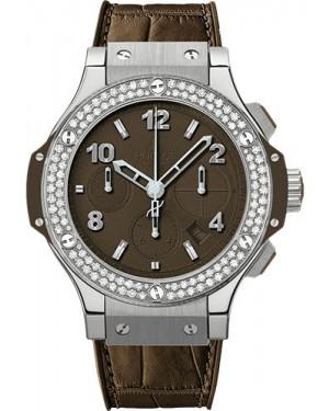 Replica Hublot Big Bang Tutti Frutti Brown 41mm Steel Diamonds 341.SC.5490.LR.1104