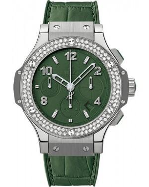 Replica Hublot Big Bang Tutti Frutti Dark Green Steel 41mm Diamonds 341.SV.5290.LR.1104