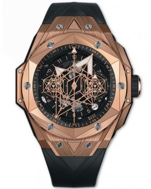 Replica Hublot Big Bang Sang Bleu II Rose Gold 418.OX.1108.RX.MXM19 Watch