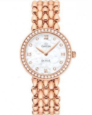 Replica Omega De Ville Prestige Dewdrop 27.4 mm Red Gold 424.55.27.60.55.004 Watch