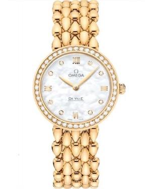 Replica Omega De Ville Prestige Dewdrop 27.4 mm Yellow Gold 424.55.27.60.55.006 Watch