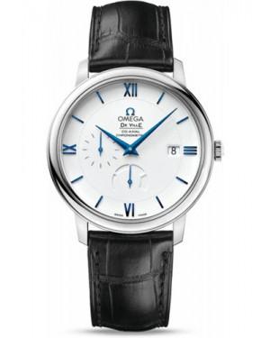Exact Replica Omega De Ville Prestige Co-Axial Power Reserve 39.5 mm White Gold 424.53.40.21.04.001 Watch