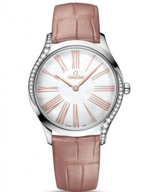 Replica Omega De Ville Tresor Mother of Pearl Diamonds 428.18.36.60.05.002 Watch