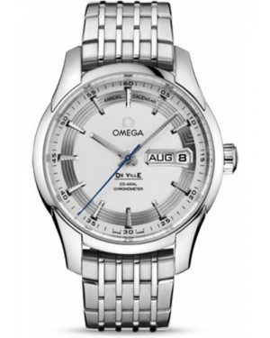 Exact Replica Omega De Ville Hour Vision Co-Axial Annual Calendar 41mm Stainless Steel Silver Dial 431.30.41.22.02.001 Watch