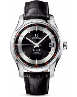 Exact Replica Omega De Ville Hour Vision Co-Axial 41mm Stainless Steel Black Dial 431.33.41.21.01.001 Watch