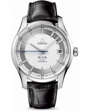 Exact Replica Omega De Ville Hour Vision Co-Axial 41mm Stainless Steel Silver Dial 431.33.41.21.02.001 Watch