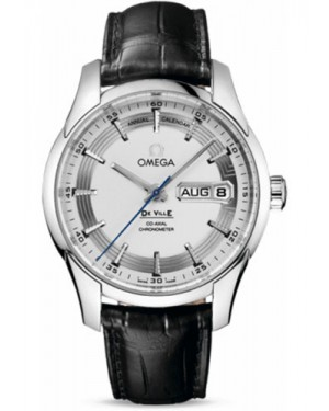 Exact Replica Omega De Ville Hour Vision Co-Axial Annual Calendar 41mm Stainless Steel 431.33.41.22.02.001 Watch