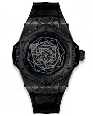 Replica Hublot Big Bang Sang Bleu Black Diamonds 465.CS.1114.VR.1200.MXM18 Watch