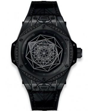 Replica Hublot Big Bang Unico Sang Bleu Black Magic 415.CX.1112.VR.MXM18 Watch