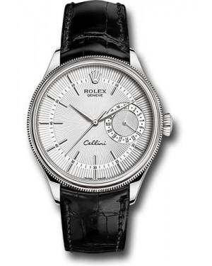 Replica Rolex Cellini Date Silver Dial 50519 sbk Watch