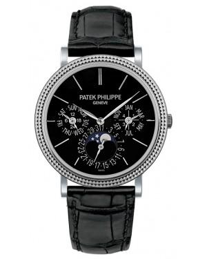 Replica Patek Philippe Perpetual Calendar 5139G-010 Grand Complications White Gold Watch