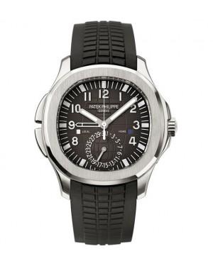 Replica Patek Philippe Aquanaut 5164A-001 Mens Dual Time Watch