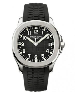 Replica Patek Philippe Aquanaut 5167A-001 Mens Black Dial Watch