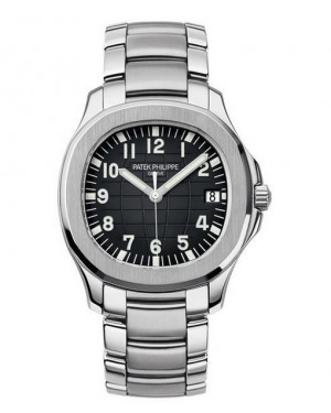 Replica Patek Philippe Aquanaut 5167/1A-001 Mens Stainless Steel Black Dial Watch