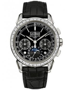 Replica Patek Philippe Grand Complications Perpetual Calendar Moon Phase Chronograph 5271P-001