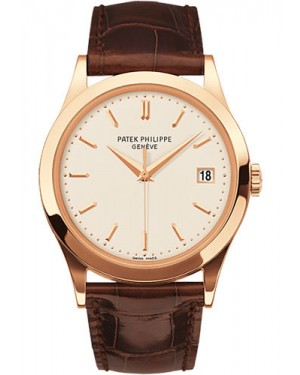 Exact Replica Patek Philippe Calatrava 5296R-010 38mm Rose Gold