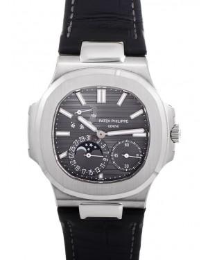 Exact Replica Patek Philippe Nautilus 5712G-001 Mens White Gold Watch