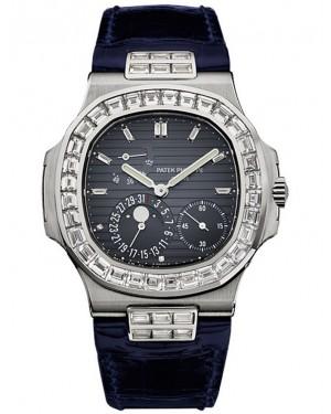 Exact Replica Patek Philippe Nautilus 5724G-001 Mens White Gold Watch