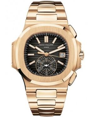 Replica Patek Philippe Nautilus Rose Gold 5980/1R-001 Watch