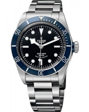 Replica Tudor Heritage Black Bay Stainless Steel Blue 79220B