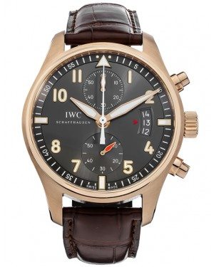 Replica IWC Pilots Spitfire Chronograph Red Gold IW387803