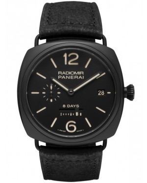 Replica Panerai Radiomir 8 Days Black Ceramic PAM00384