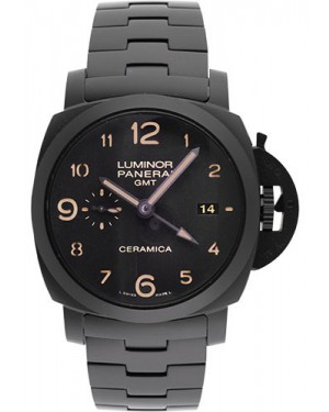 Replica Panerai Luminor 1950 Tuttonero 44mm Black Ceramic PAM00438