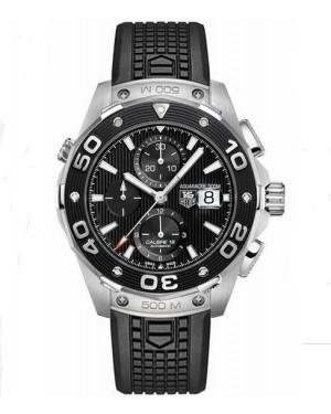 Exact Replica TAG Heuer Aquaracer 500M Chronograph Black Dial Automatic 44mm CAJ2110.FT6023 Watch