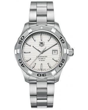 Replica Tag Heuer Aquaracer 300M Caliber 5 41mm Silver Dial WAP2011.BA0830 Watch