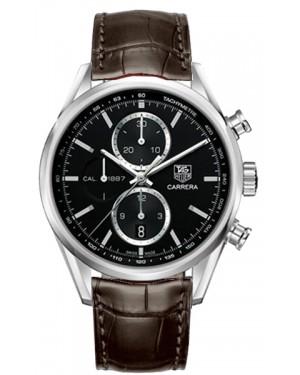 Exact Replica Tag Heuer Carrera 1887 Black Dial Chronograph 41mm CAR2110.FC6291