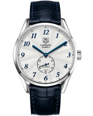 Exact Replica TAG Heuer Carrera Heritage Silver Dial Blue Arabic WAS2111.FC6293