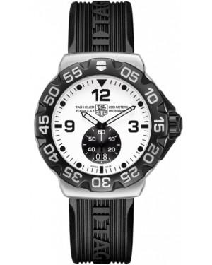 Replica Tag Heuer Formula 1 Quartz 44mm White Dial WAH1011.FT6026 Watch