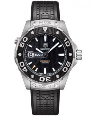 Exact Replica TAG Heuer Aquaracer 500M Calibre 5 Black Dial WAJ2110.FT6015 Watch
