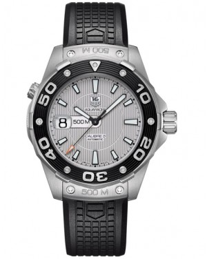 Replica TAG Heuer Aquaracer 500M Calibre 5 Silver Dial Automatic 43mm WAJ2111.FT6015 Watch