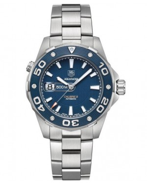 Replica TAG Heuer Aquaracer 500M Calibre 5 Blue Dial Automatic 43mm WAJ2112.BA0870 Watch