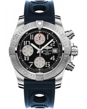 Exact Replica Breitling Avenger II Blue Ocean Racer Strap Black Dial A1338111/BC33 Watch