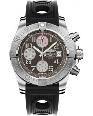 Exact Replica Breitling Avenger II Black Ocean Racer Strap Gray Dial A1338111/F564 Watch