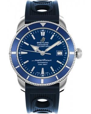 Exact Replica Breitling Superocean Heritage 42 Blue Ocean Racer Strap A1732116/C832 Watch