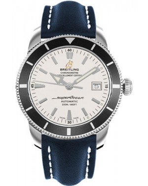 Exact Replica Breitling Superocean Heritage 42 Blue Leather Strap A1732124/G717 Watch