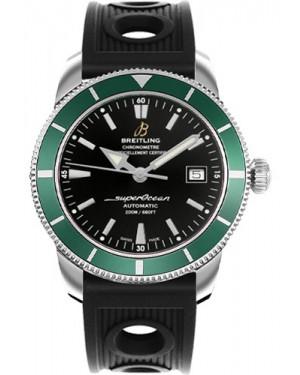 Exact Replica Breitling Superocean Heritage 42 Black Ocean Racer Strap A1732136/BA61 Watch