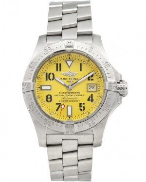 Replica Breitling Avenger Seawolf Steel Yellow Dial A1733010/I513 Watch