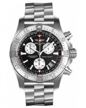 Replica Breitling Avenger Seawolf Steel Black Dial Chronograph A7339010/BA04