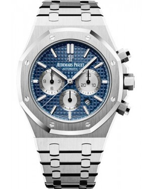 Replica Audemars Piguet Royal Oak Chronograph 41mm Blue Dial 26331ST.OO.1220ST.01