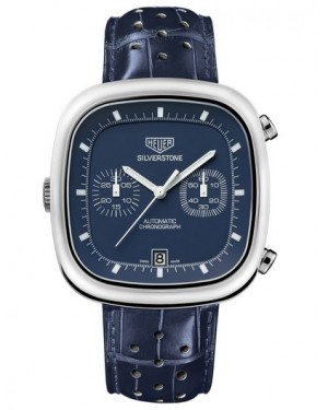 Replica Tag Heuer Silverstone Automatic Chronograph Limited Edition Blue Dial CAM2110.FC6258