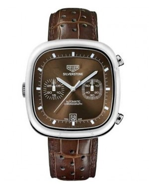 Replica Tag Heuer Silverstone Calibre 11 Chronograph Limited Edition Brown Dial CAM2111.FC6259