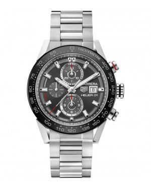 Replica TAG Heuer Carrera Calibre Heuer 01 Grey CAR201W.BA0714