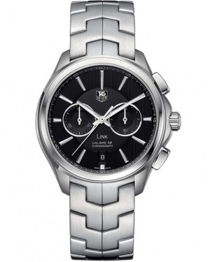 Replica Tag Heuer Link Calibre 18 Automatic Chronograph Black Dial Watch CAT2110.BA0959