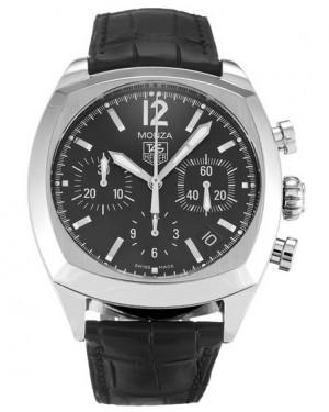 Replica Tag Heuer Monza Chronograph Black Dial CR2113.FC6164