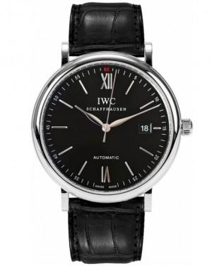 Replica IWC Portofino Automatic Black Dial IW356502