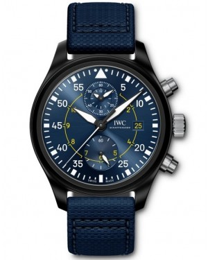 Replica IWC Pilot's Chronograph Blue Angels IW389008 Watch